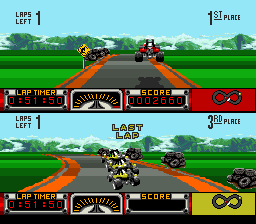 Road Riot 4WD (Europe)