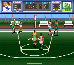 Dream Basketball - Dunk & Hoop (Japan)