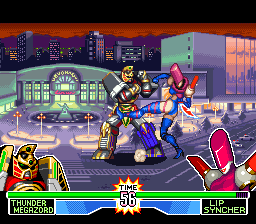 Mighty Morphin Power Rangers - The Fighting Edition (Europe)