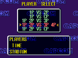 Capcom's Soccer Shootout (USA) (Beta)