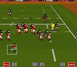 World Class Rugby 2 - Kokunai Gekitou Hen '93 (Japan)