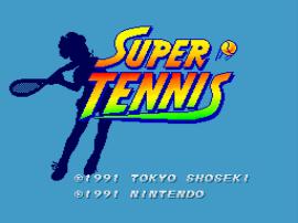Super Tennis (Europe) (Rev A)