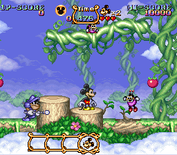 Magical Quest Starring Mickey Mouse, The (USA) (Beta)