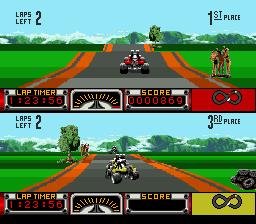 Road Riot 4WD (USA) (Beta)