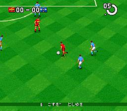 J.League Super Soccer '95 - Jikkyou Stadium (Japan)