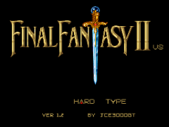 Final Fantasy II (USA) (Rev 1) [Hack by JCE3000GT v1.2] (Hard Type)