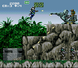 Gunforce - Battle Fire Engulfed Terror Island (USA)