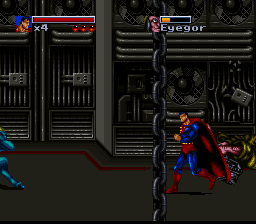 Death and Return of Superman, The (Europe)