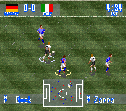 International Superstar Soccer (Europe)