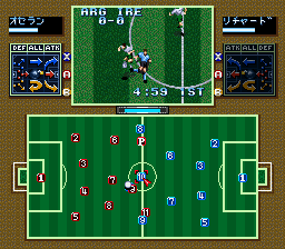 Tactical Soccer (Japan)