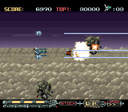 Phalanx - The Enforce Fighter A-144 (Japan)