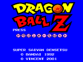 Dragon Ball Z - Super Saiya Densetsu (Japan) (Rev 1) [En by Saiya v0.99Final] (~Dragon Ball Z - Legend of the Saiyans)