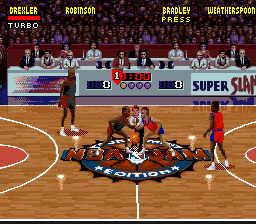 NBA Jam - Tournament Edition (USA) (Beta)