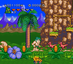 Joe & Mac 2 - Lost in the Tropics (USA) (Beta)