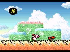 Super Mario World 2 - Yoshi's Island (Europe) (En,Fr,De)