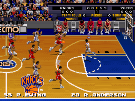 Tecmo Super NBA Basketball (Japan) (Rev A)
