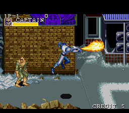 Captain Commando (Europe)