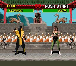Mortal Kombat - Shinken Kourin Densetsu (Japan)