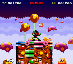 Zool - Ninja of the Nth Dimension (Europe)