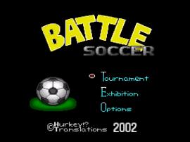 Battle Soccer - Field no Hasha (Japan) [En by Hurkey v1.0]