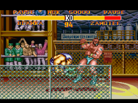 Street Fighter II Turbo - Hyper Fighting (Japan) (Rev 0A)