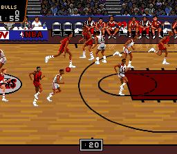 NBA Pro Basketball - Bulls vs Blazers (Japan)