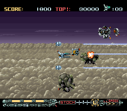 Phalanx - The Enforce Fighter A-144 (Europe)