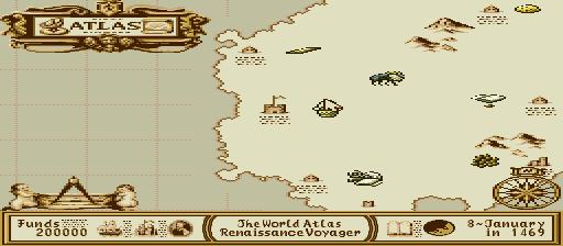 Atlas, The - Renaissance Voyager (Japan)