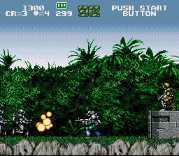 Gunforce - Battle Fire Engulfed Terror Island (Japan)