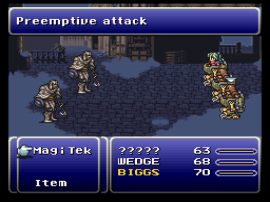 Final Fantasy III (USA) [Hack by MakouEyes v9.08] (~Final Fantasy VI - The Eternal Crystals)
