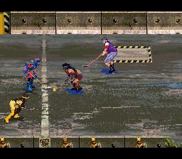 Street Hockey '95 (USA) (Beta)