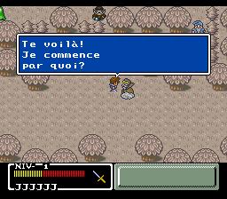Mystic Quest Legend (France)