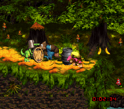Donkey Kong Country 3 - Dixie Kong's Double Trouble! (USA) (En,Fr)