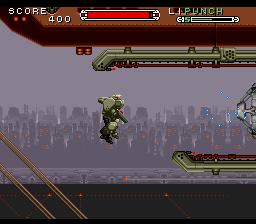 Cybernator (Europe)