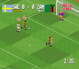 Head-On Soccer (USA)