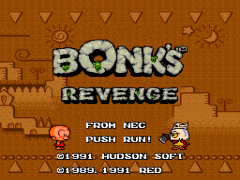 Bonk's Revenge (USA)