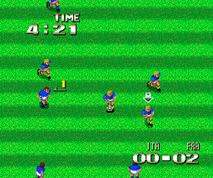 Formation Soccer - Human Cup '90 (Japan)