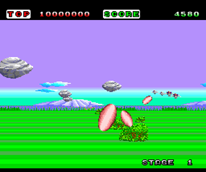 Space Harrier (USA)