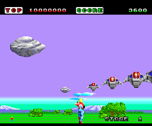 Space Harrier (Japan)