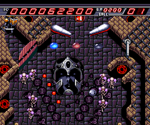 Devil Crash - Naxat Pinball (Japan)