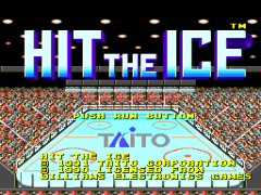 Hit the Ice - VHL the Official Video Hockey League (Japan)